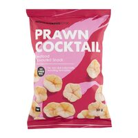Woolworths Prawn Cocktail Chips 30G
