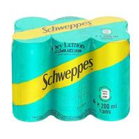 Schweppes Dry Lemon 300ml 6 pack
