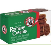 Bakers Romany Creams MINT 200g
