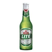 Castle LITE 340ml each (maximum per client 1,250ml) 4 bottles only
