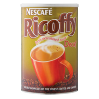 Nescafe Ricoffy Caffeine Free 250g Can