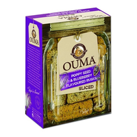 Ouma Rusks BLUEBERRY (with poppy seeds) 450g
