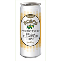 Roses PASSION FRUIT & SODA 330ml can each