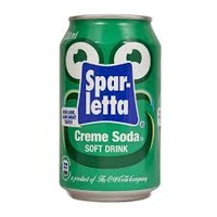Sparletta Creme Soda can Each 300ml