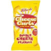 Willards Cheese Curls 150g Packet